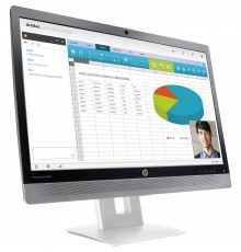 "HP Monitor Led EliteDisplay 24"" modello E240c"