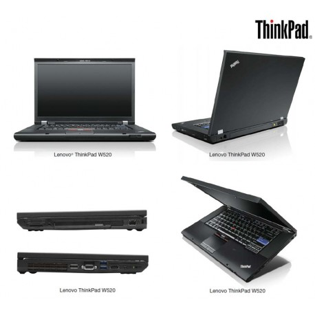 LENOVO Thinkpad WorkStation Mobile W520